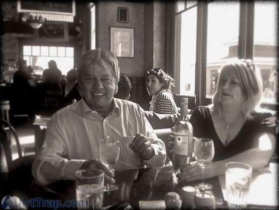 Frazer Hines and Sam Stone