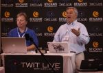 TWIT Live at NME '08: Leo Laporte streaming live